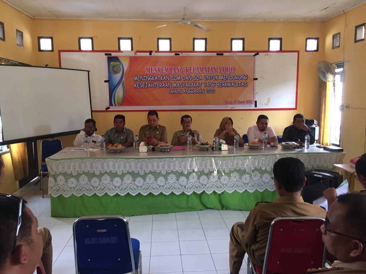 Musrenbang Sarjo, DPRD Pasangkayu Harap Usulan Masyarakat Diakomodir