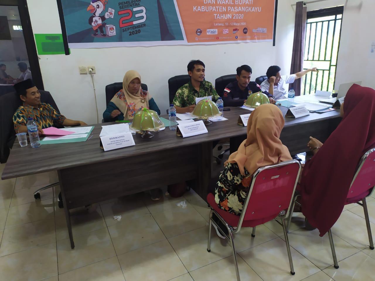 img KPU Pasangkayu Umumkan Calon Anggota PPS Pilbup 2020