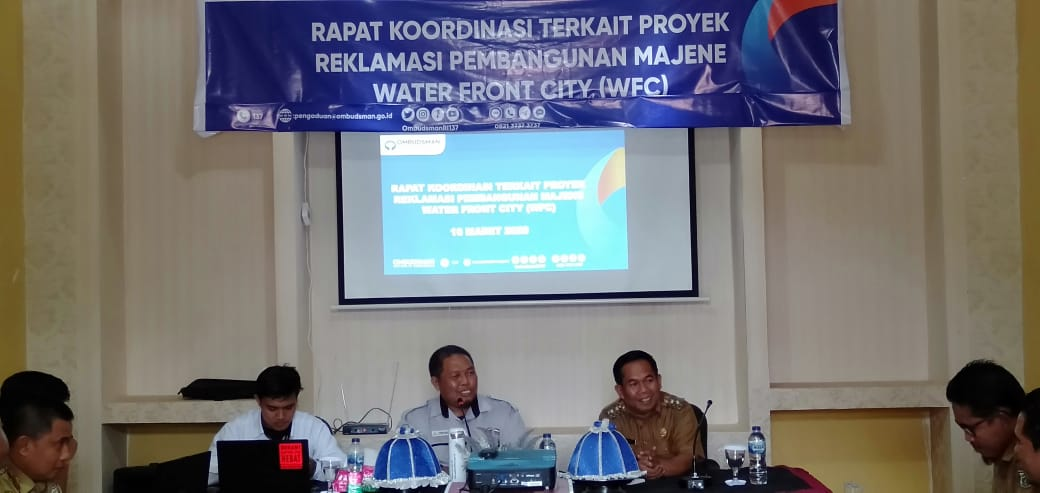 Gambar Wabup Majene Rakor dengan Ombudsman Perwakilan Sulbar Terkait WFC