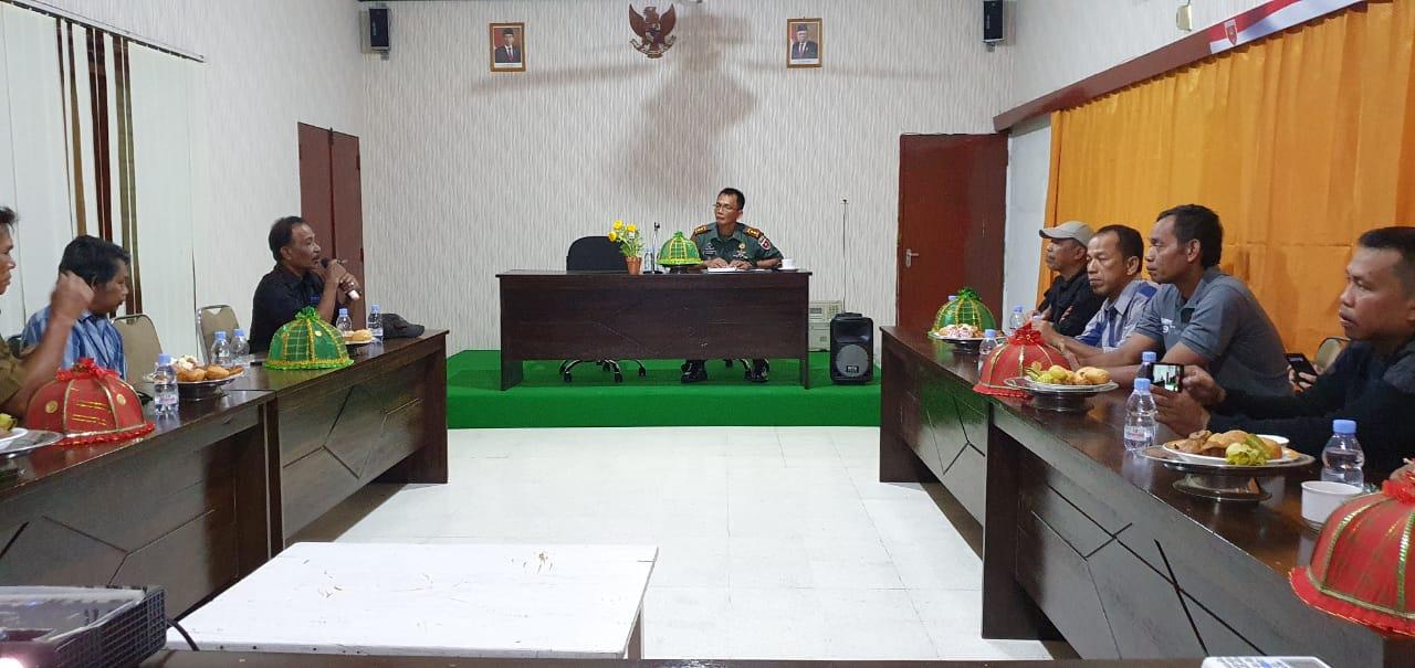 Gambar Dandim Majene : TNI Bangun Sinergitas dengan Wartawan lewat Coffe Morning