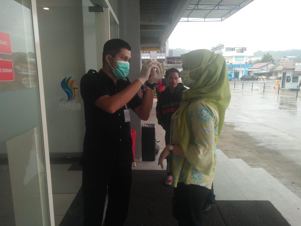 Management Mall Matos Pun Lakukan Pencegahan Pandemi Covid-19