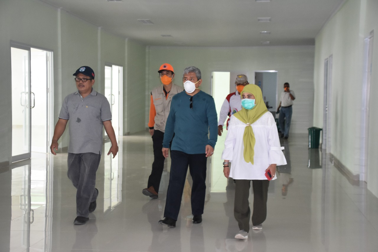 Antisipasi Pandemi Covid-19, Dinkes dan RSUD Regional Sulbar Pesan APD