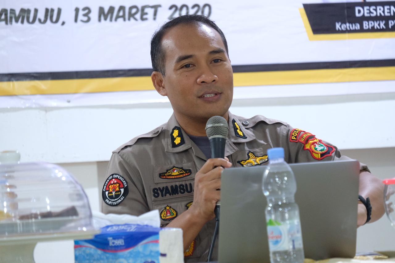 Kabid Humas : Penerimaan Anggota Polri di Sulbar Ditunda Sementara