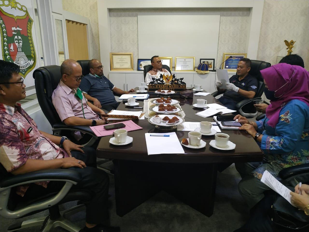 Gambar Pemkab Mamuju Perkuat Surat Gubernur Tentang Pengamanan Wilayah