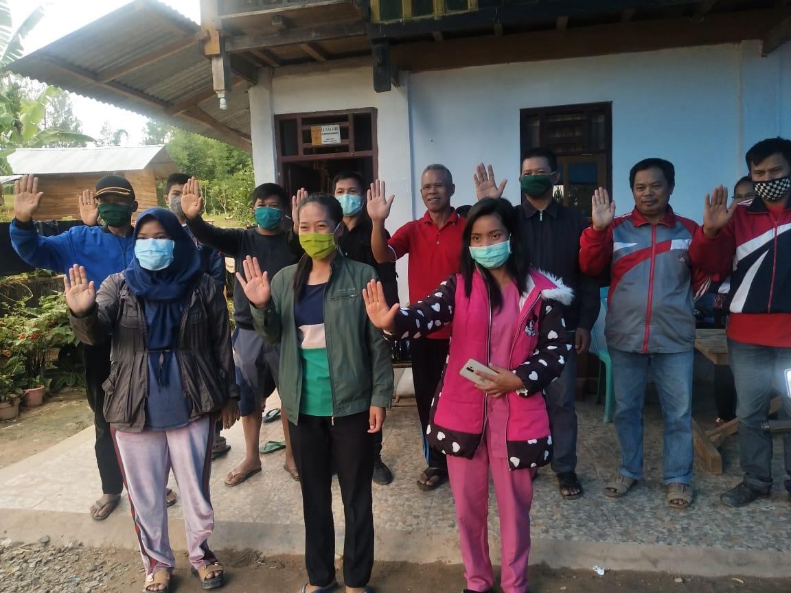 Pemerintah Desa Taupe Bentuk Tim Relawan Pencegahan Covid 19