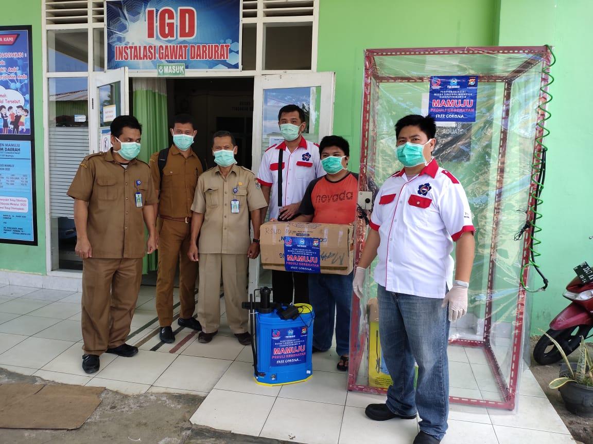 PSMTI Serahkan Bantuan Bilik Disinfectan ke Rumah Sakit