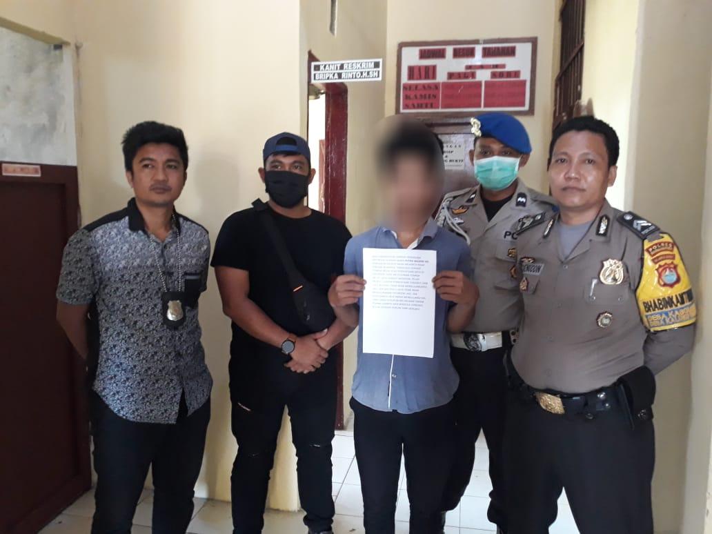 Gambar Akibat Postingan Tidak Senonoh, H Diamankan Polisi Pasangkayu