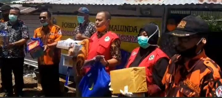 Gambar MPC PP Majene Peduli dengan Berbagi kepada Petugas Jaga Covid-19