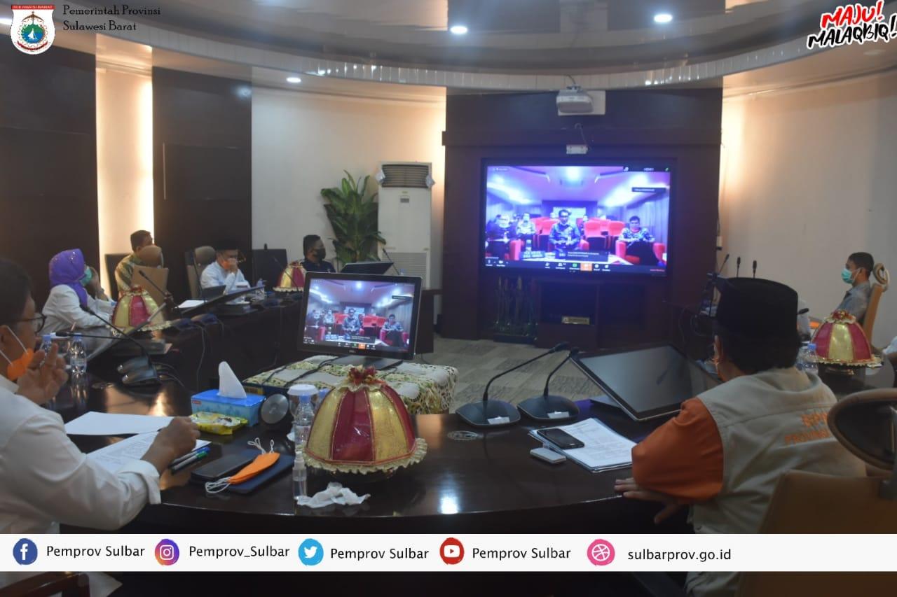 img Idris: Butuh Sinergi Seluruh Kabupaten dan Kota dalam Penanganan Covid -19