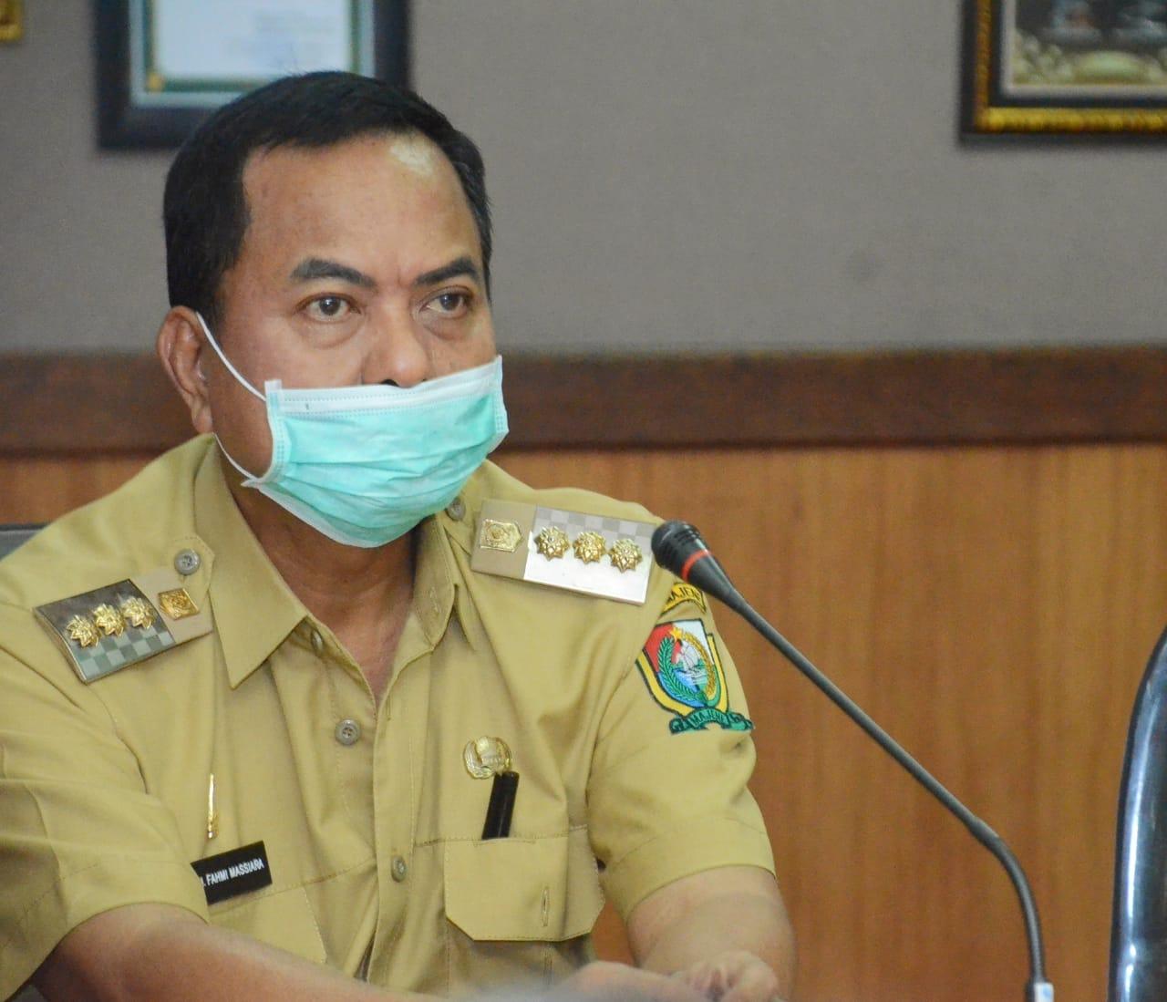 img Bupati Majene Ajak ASN Sumbang Masker