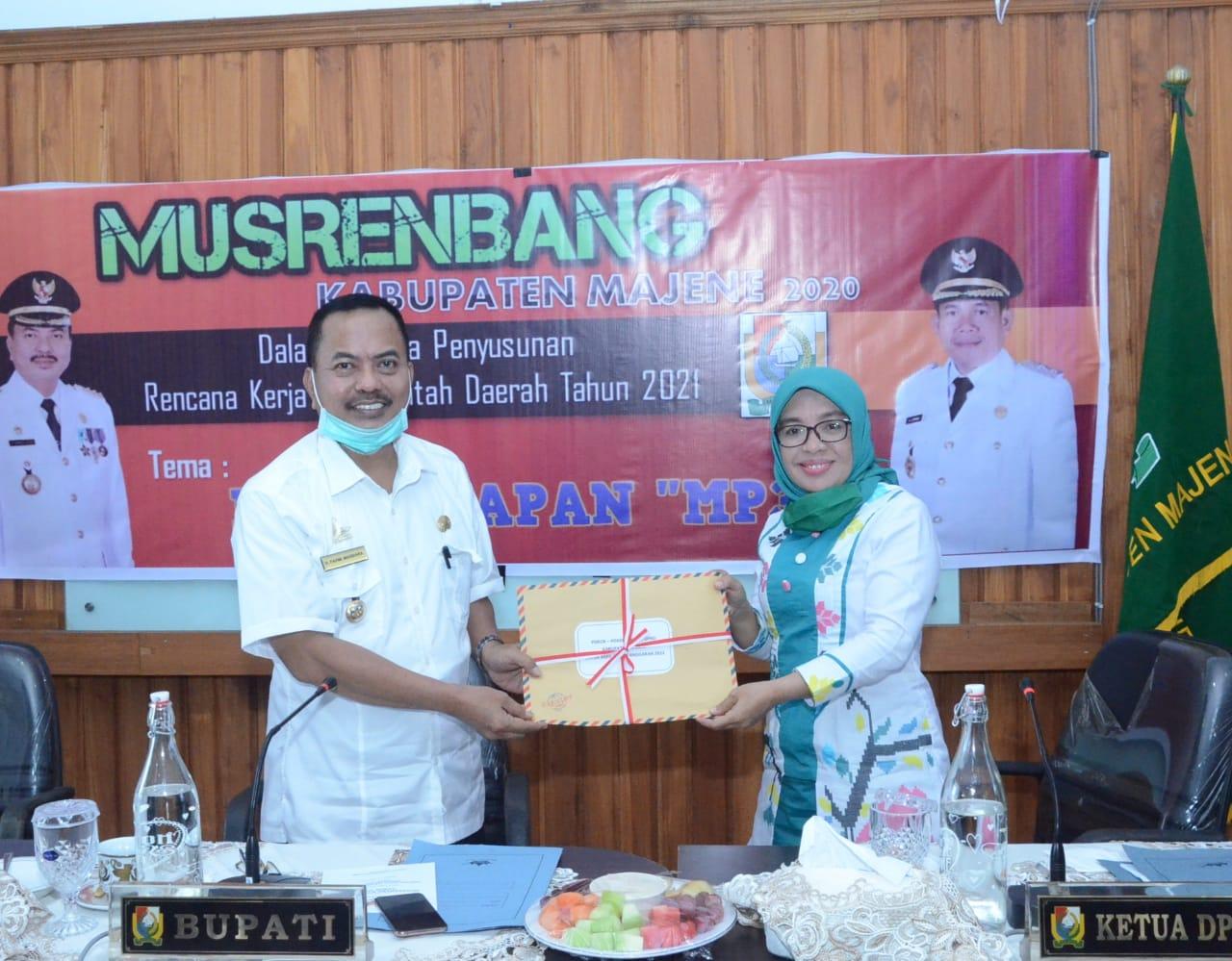Gambar Musrenbang Kabupaten Majene 2020 Dilakukan Secara Online