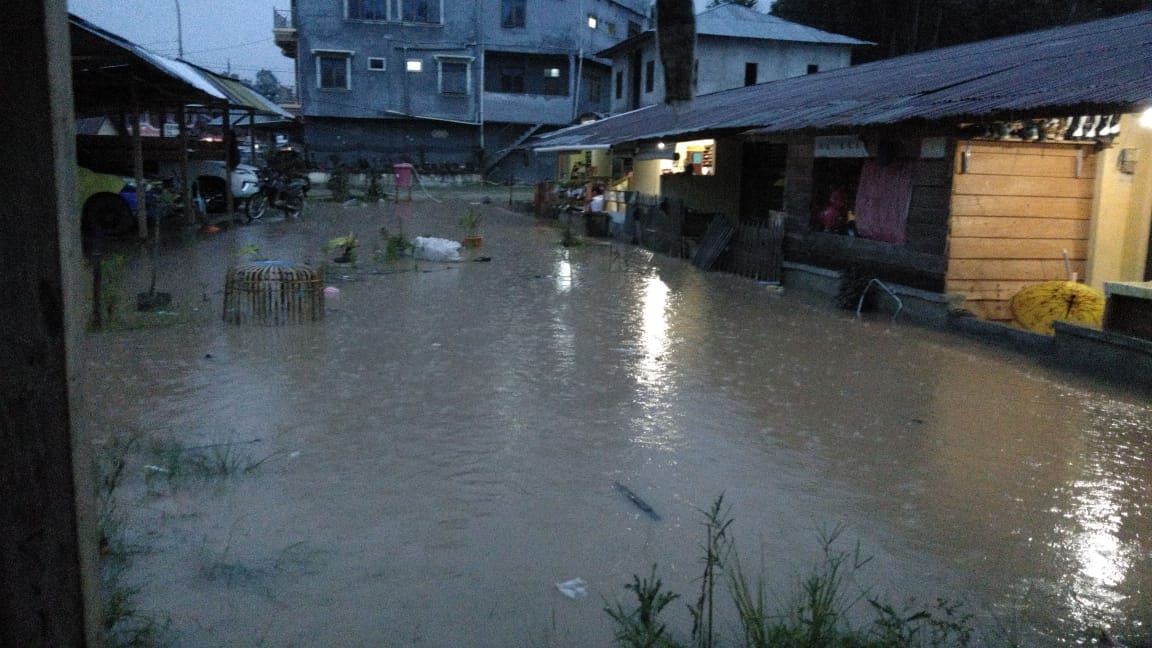 Gambar Asrama Polsek Mamasa Jadi Langganan Banjir