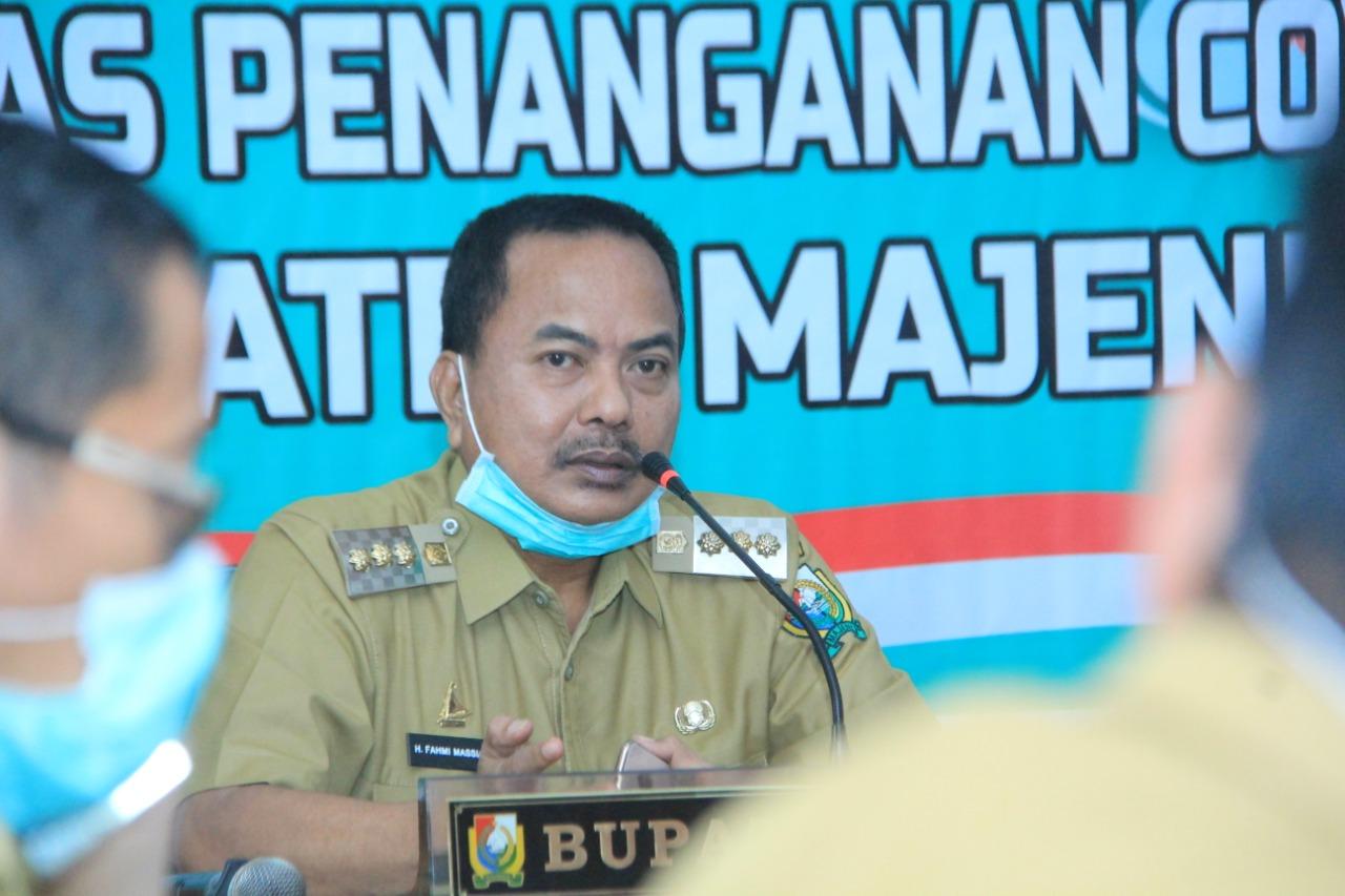 Gambar Bupati Fahmi Launching Pembagin BLT