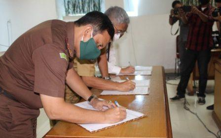 Gambar Gubernur Sulbar Ajak Kejati dan BPKP Kawal Dana Refocusing Covid-19
