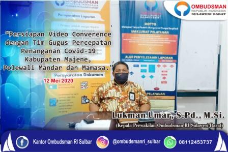 Ombudsman Sulbar Apresiasi Langkah Pencegahan Tim Gugus Mamasa