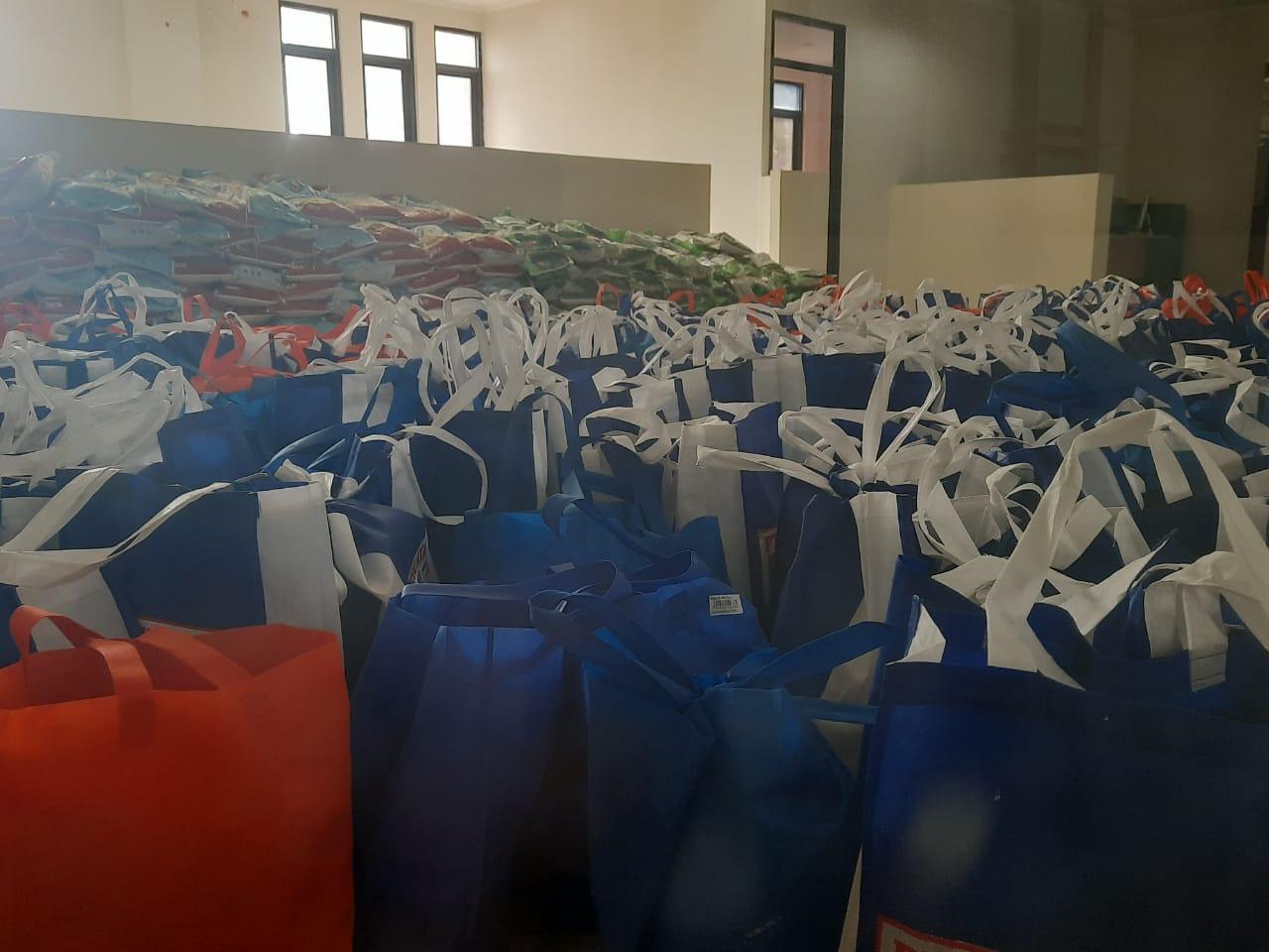Peduli Dampak Covid-19, TNI/POLRI Bersama Relawan Akan Kembali Salurkan 1.200 Sembako