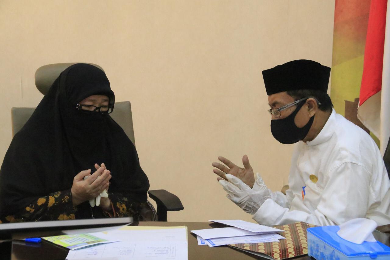 Gambar Gubernur Sulbar Launching Pembayaran Zakat 1441 H/2020 M