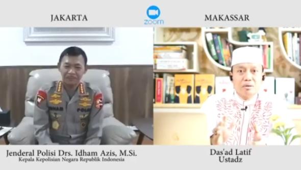 Gambar Ngopi Bareng Kapolri dengan Ustad Das'ad Latif, Satu Teladan Lebih Baik dari Seribu Nasihat