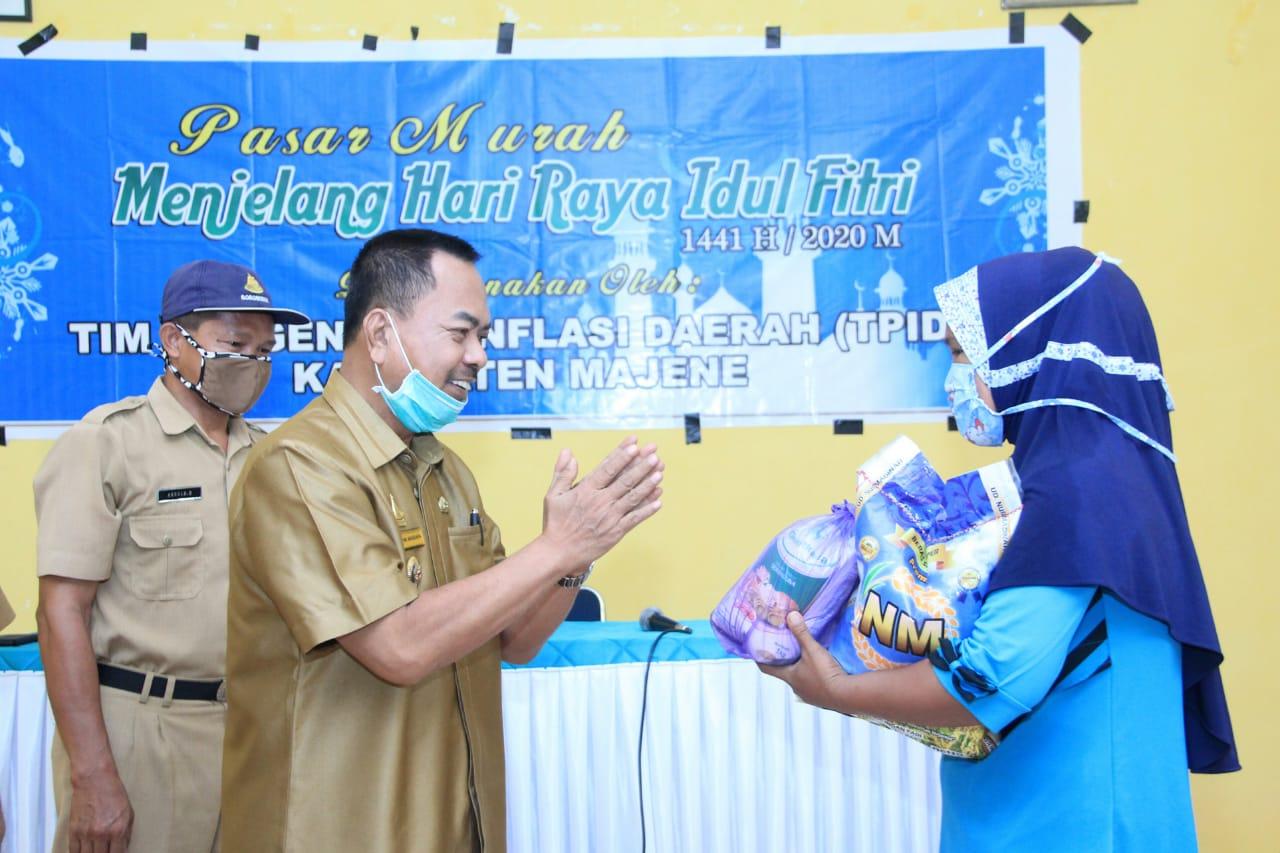 Gambar TPID Gelar Pasar Murah Jelang Idul Fitry 1441 H