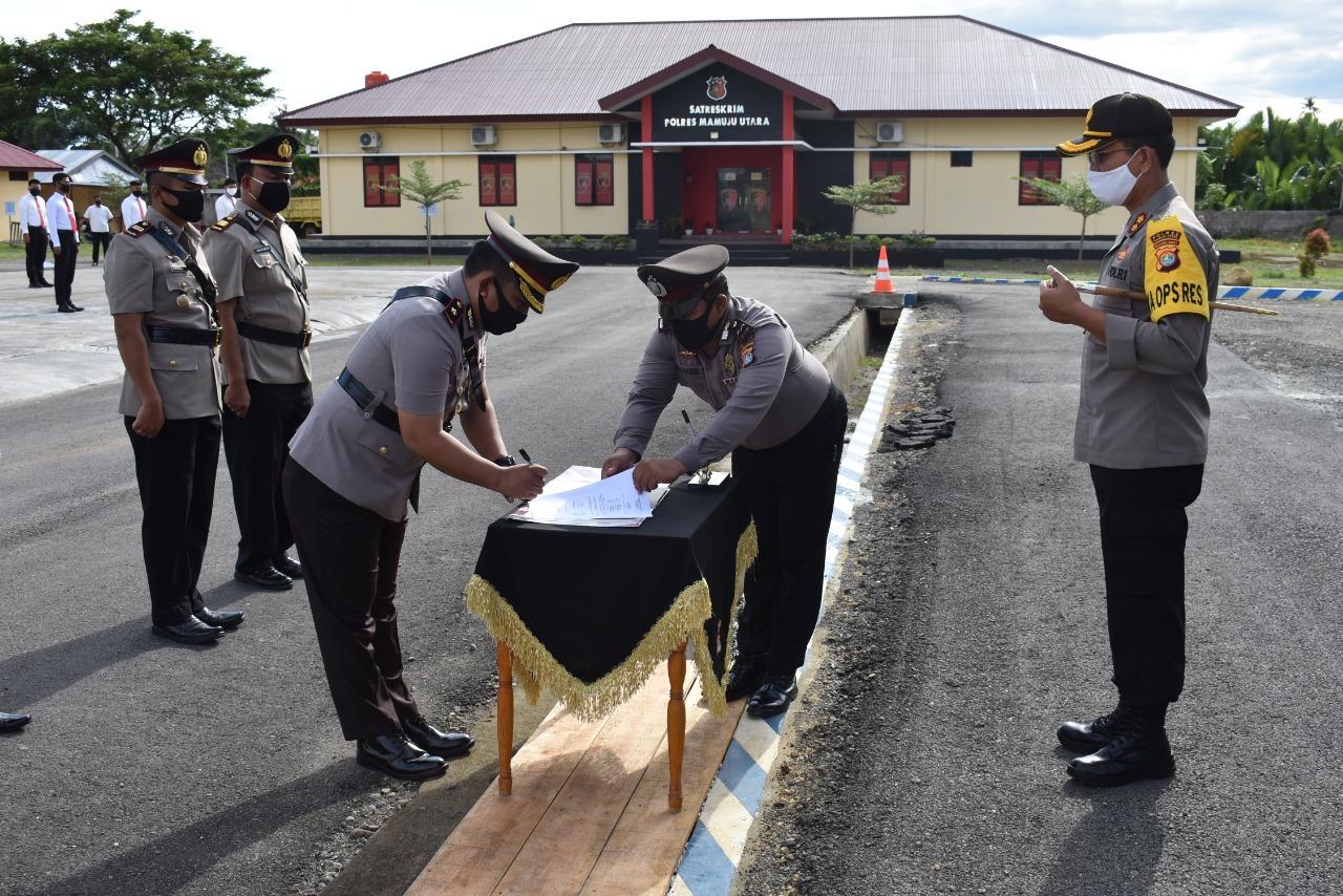 img 3 Pejabat Tinggi Polres Matra Dimutasi