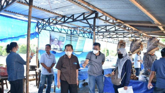 img Pasar Tradisional TPI Mamuju Diperlombakan Dalam Tatanan Normal Baru