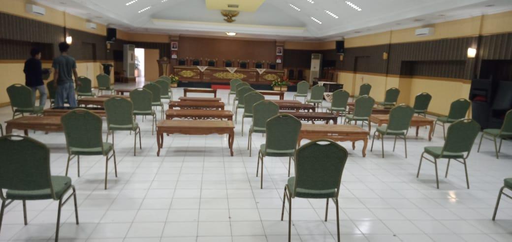 img Dua Pejabat Majene Bakal Dilantik Besok, Ruang Pola Disterilkan