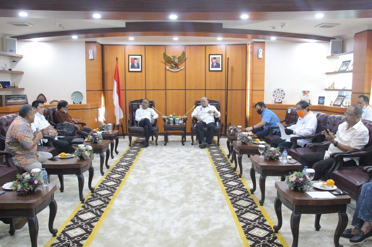 Gambar Bertemu Ketua DPD RI, PWI Usulkan Sinergi Penguatan Peran DPD RI
