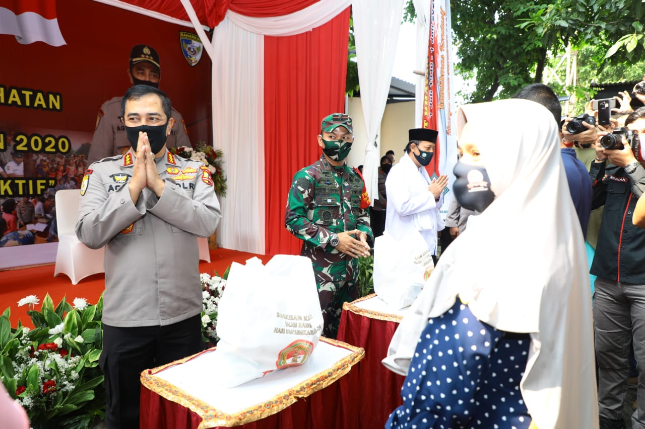 Baharkam Polri Gelar Baksos dan Bakkes Serentak di Kota Tangerang