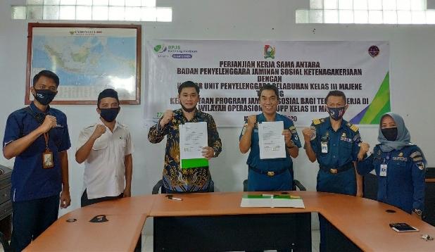 BPJAMSOSTEK Siapkan Perlindungan bagi Nelayan dan Tenaga Kerja Bongkar Muat di Majene