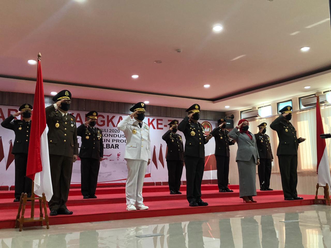 img Dipimpin Presiden,   Upacara Bhayangkara Digelar Virtual