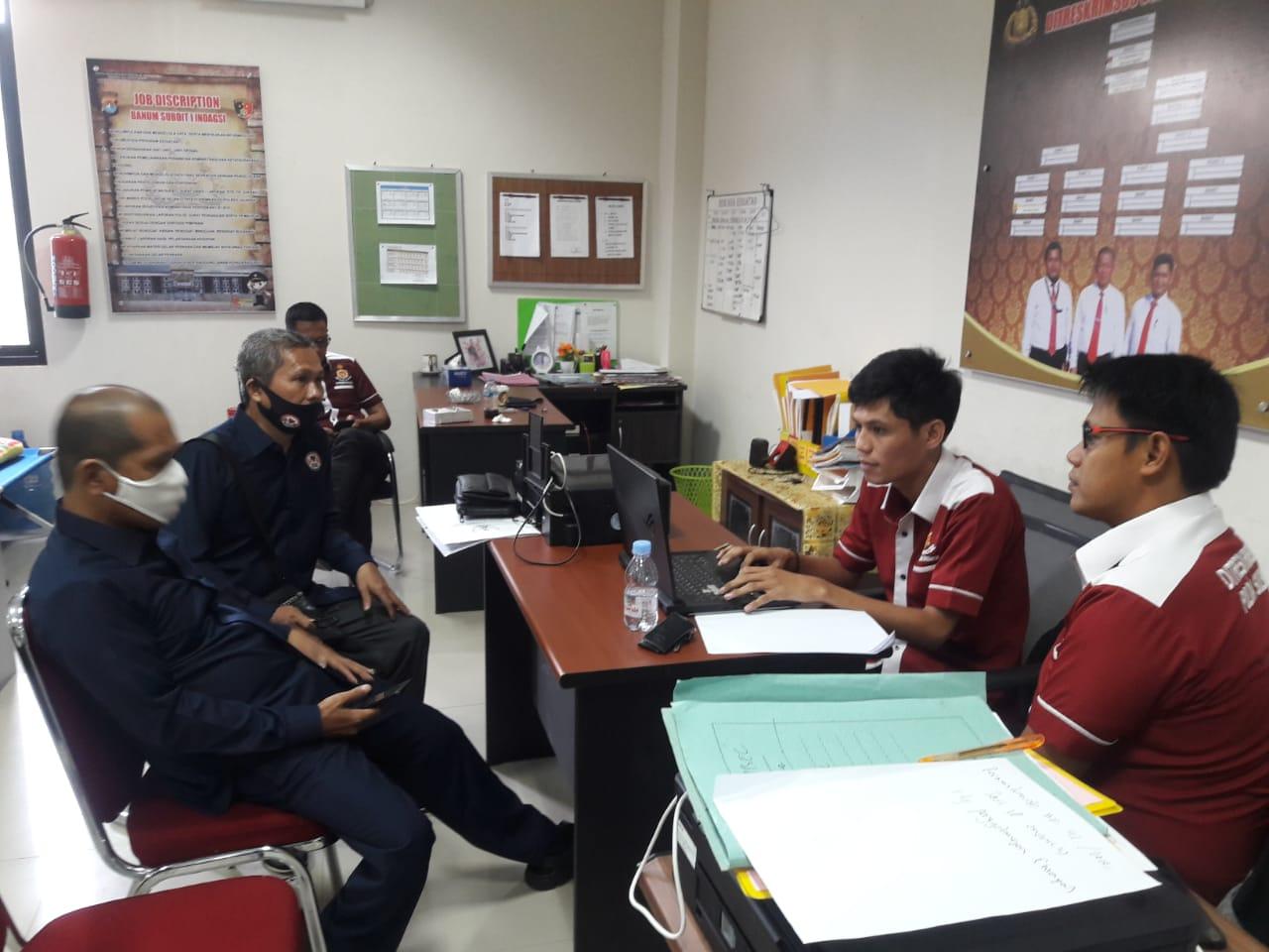 KPID Sulbar Dimintai Keterangan Penyidik Reskrimsus Polda Sulbar