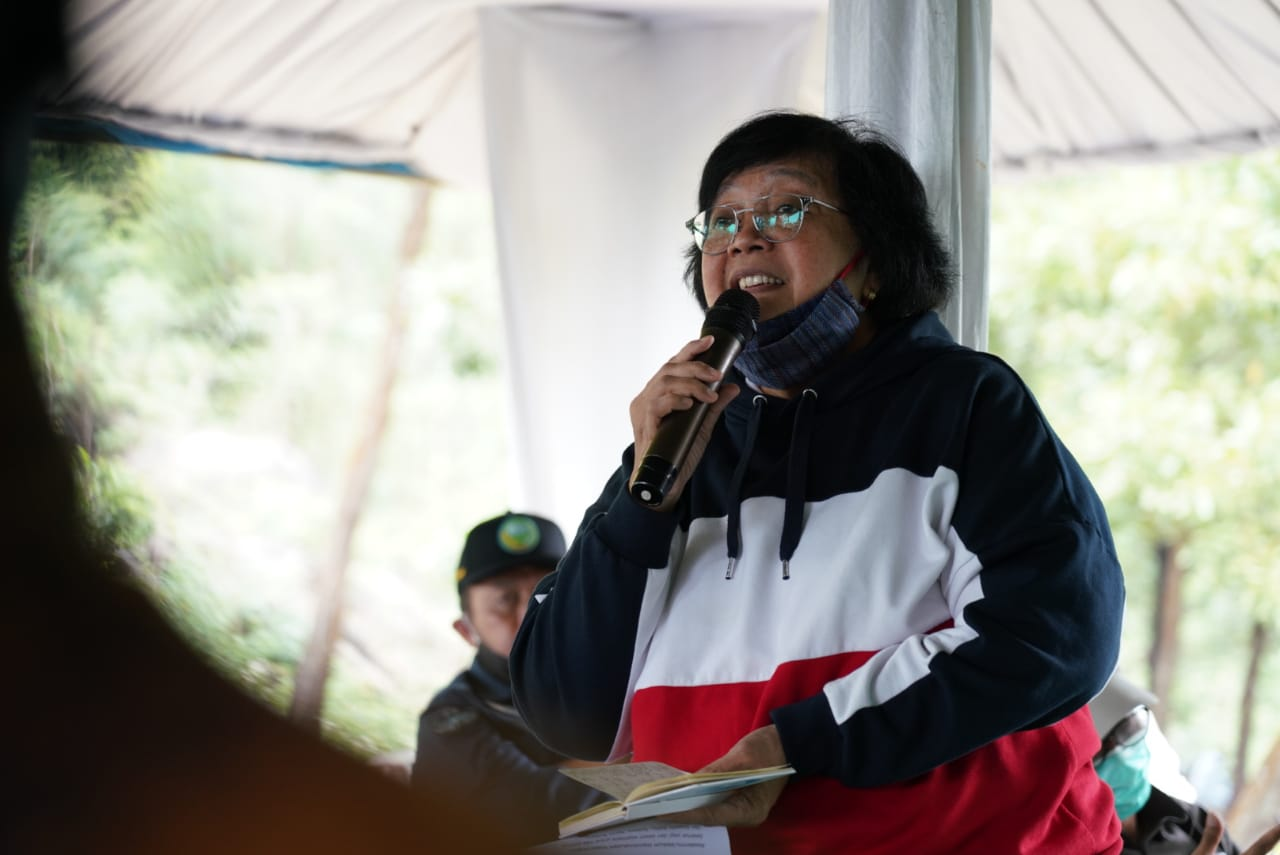 Gambar Menteri Siti Nurbaya Berkunjung ke KPH, Ini Agendanya