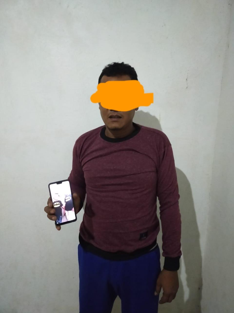 img Sat Reskrim Polres Pasangkayu Ringkus Pencuri HP di Topoyo