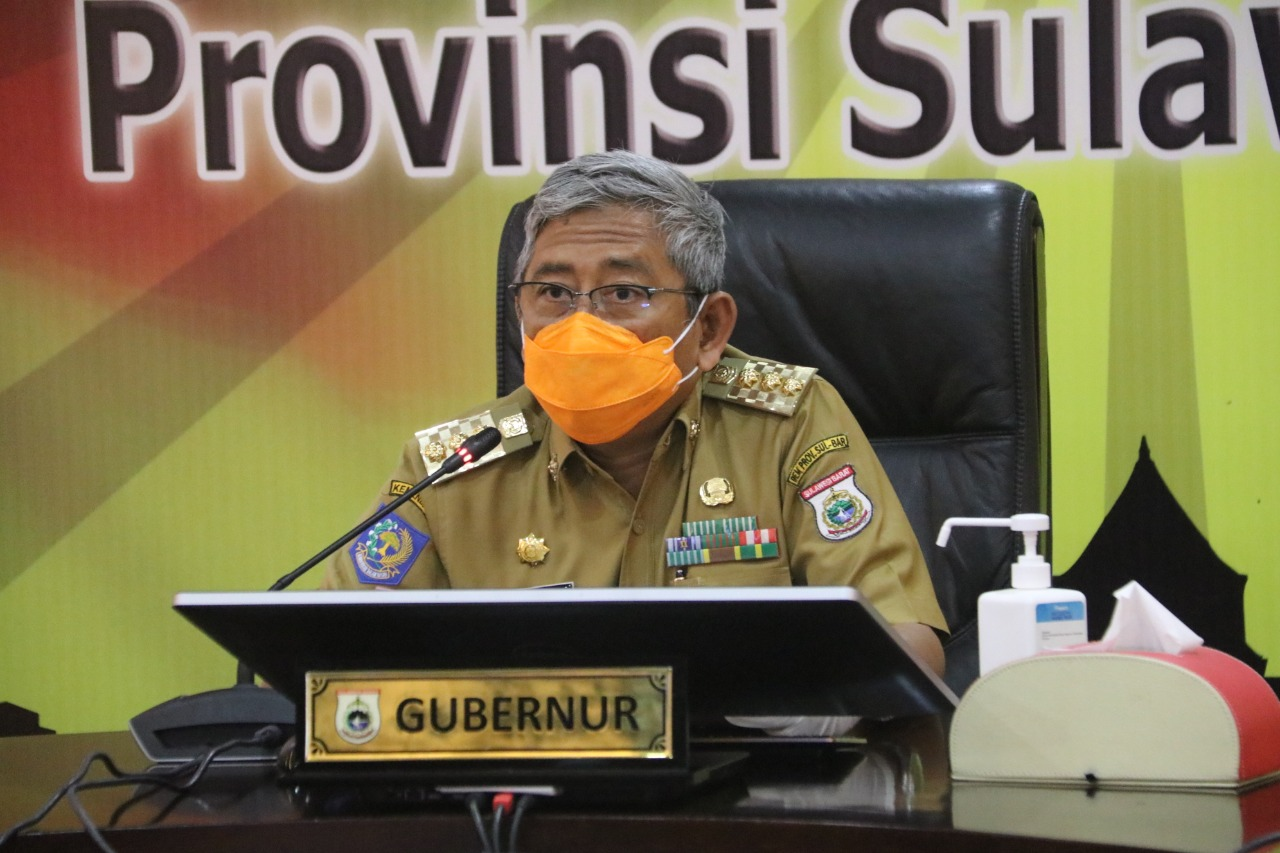 Instruksi Gubernur Sulbar, Perketat Protokol Penanganan Covid-19