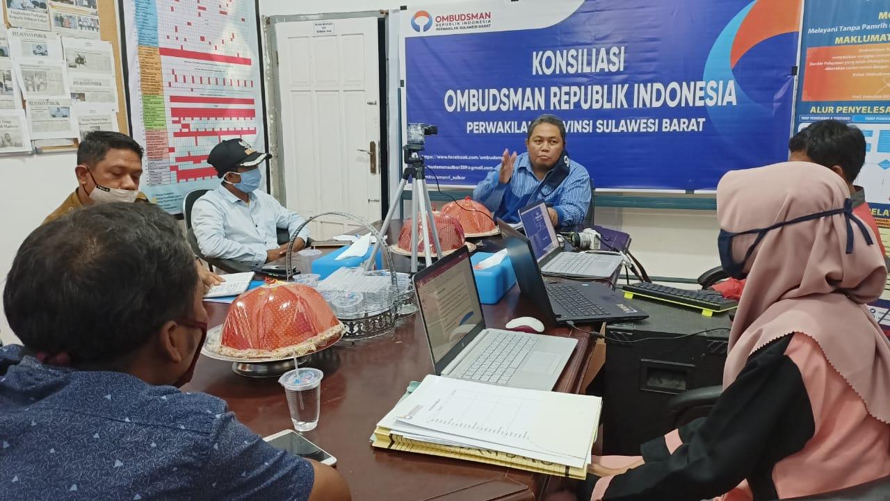 Gambar Kades Saptanajaya Dilaporkan Warganya, Ini Sikap Ombudsman Sulbar