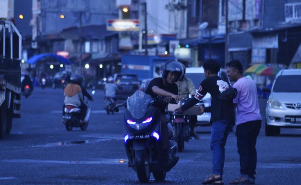 Gambar Bikers Mamuju Gelar Aksi Solidaritas untuk Masamba