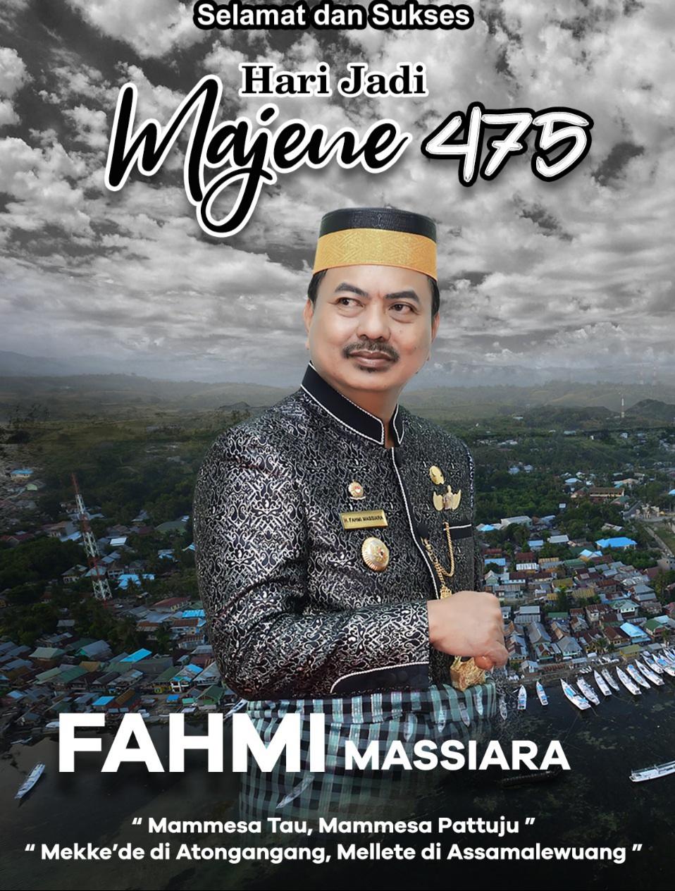 img Fahmi Massiara : Selamat Hari Jadi Majene ke 475 Tahun