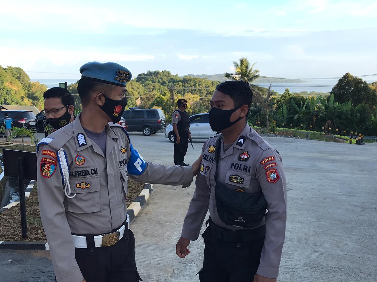 Gambar TNI-Polri Akan Tegakkan Disiplin Masker, Dimulai Dari Internal