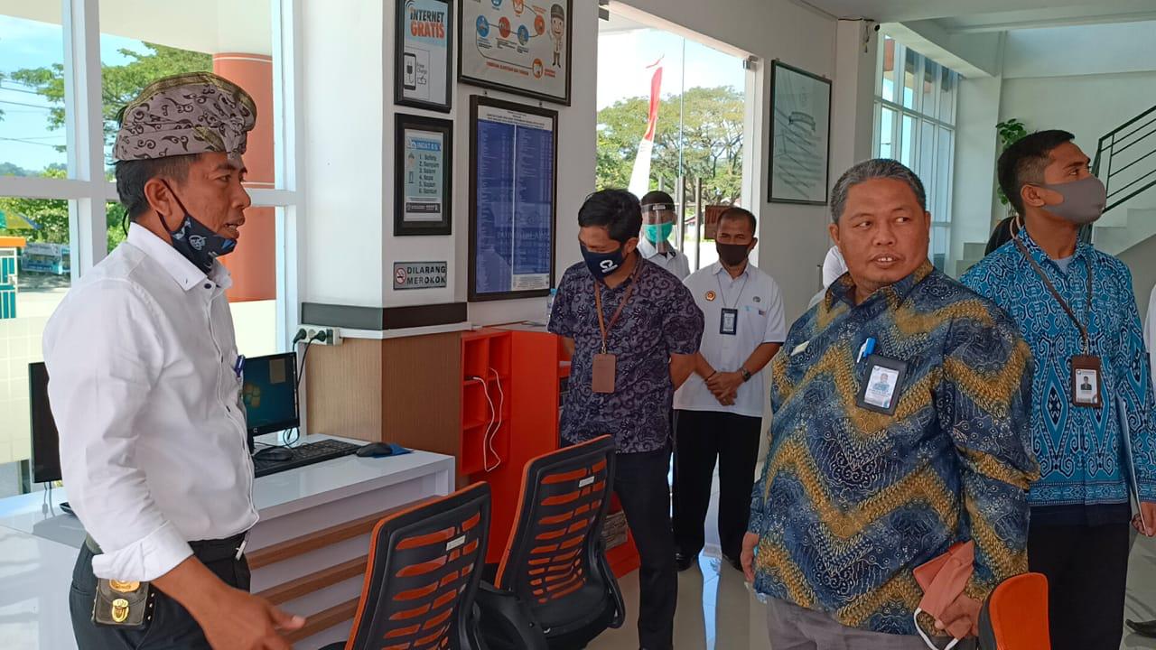 img Ombudsman Sulbar Bangun Komunikasi dengan BKPIM Mamuju
