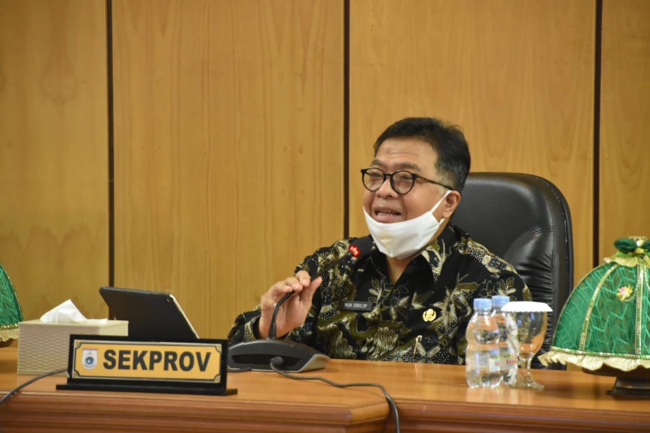 Tangani Covid, Sekprov Sulbar: Pemeritah Pusat Perlu Melihat Keseriusan Pemerintah Daerah