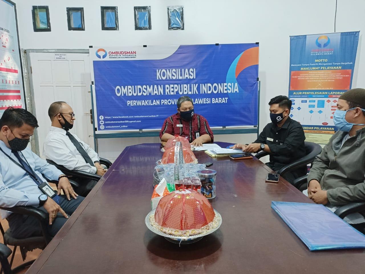 img Ombudsman Gelar Konsiliasi Dugaan Maladministrasi di BPD Sulselbar