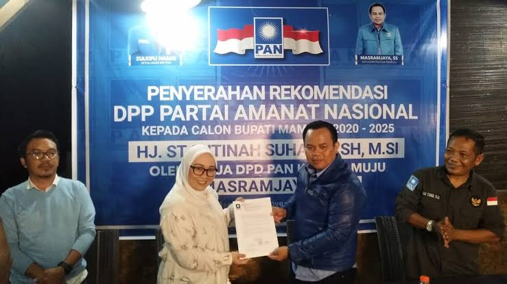 Gambar Masram Jaya: SK PAN untuk Petahana Dibatalkan