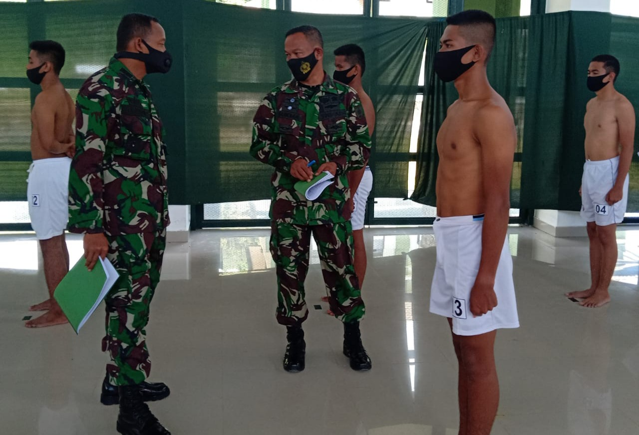 Danrem 142/Tatag buka Sidang Parade Caba PK TNI AD