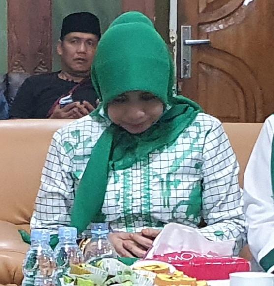 Gambar Sesi Pengambilan Gambar Balon Bupati Majene Patmawati Fahmi Berhenti, Ini Sebabnya
