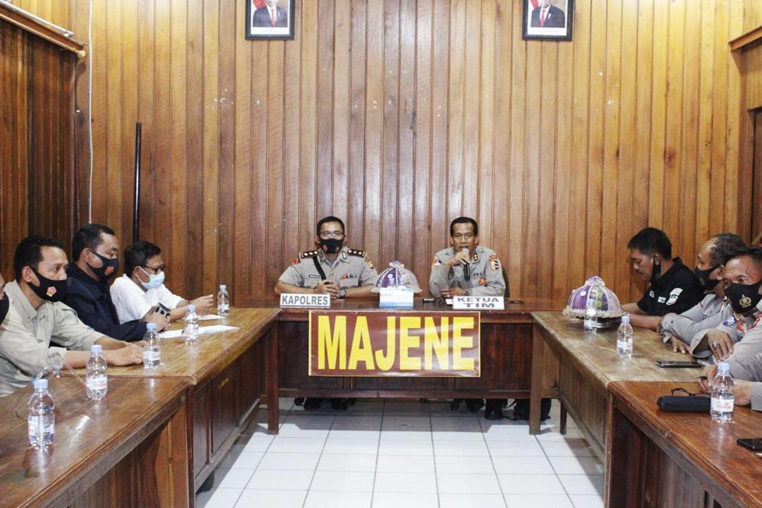 Gambar Puslitbang Polri Berkunjung ke Polres Majene