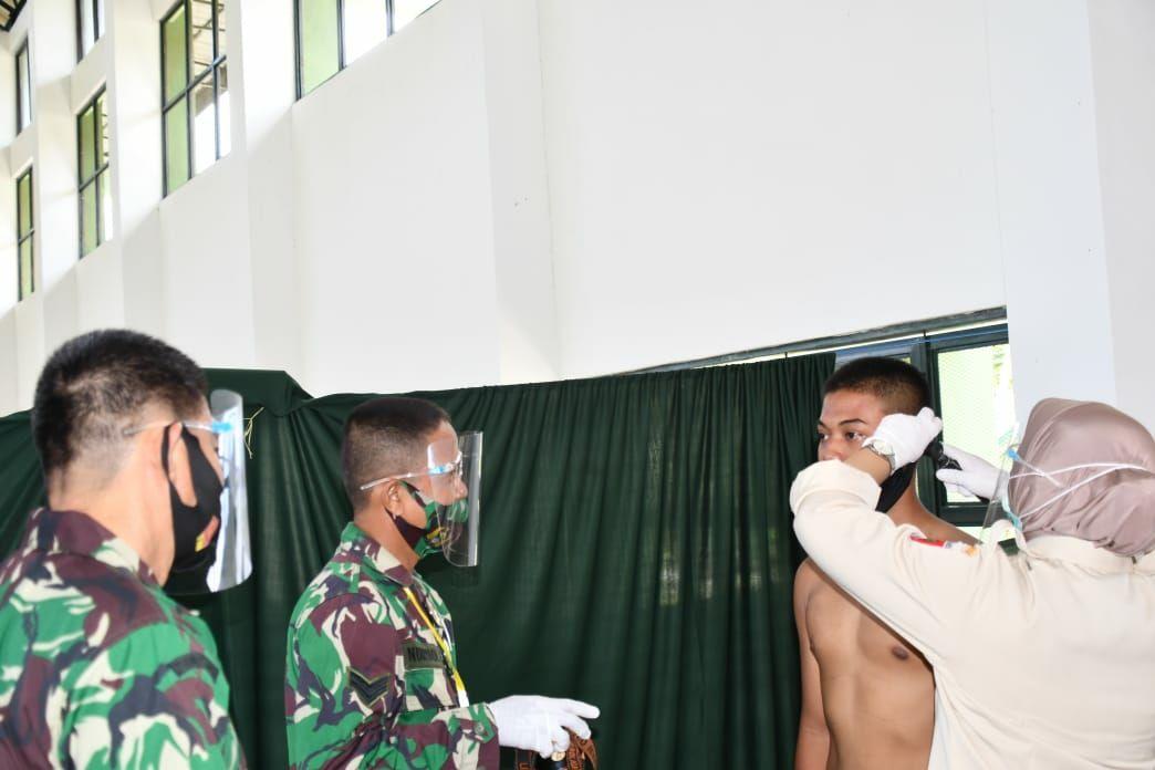 Gambar Para Caba PK TNI AD Mulai Jalani Fase Pemeriksaan Kesehatan
