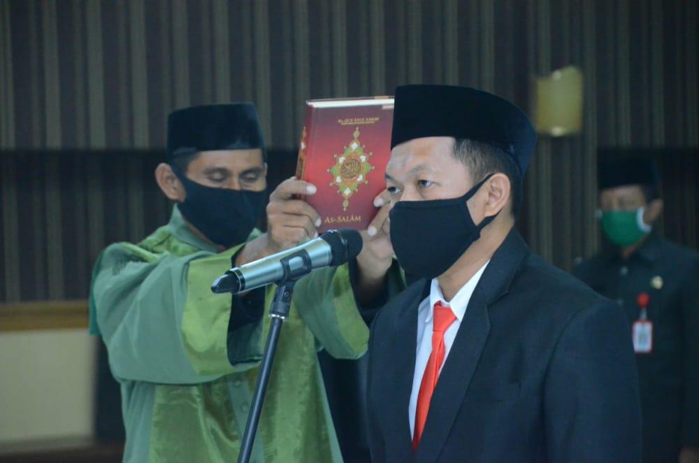 Gubernur Sulbar Lantik Penjabat Sekretaris Daerah Kabupaten Majene