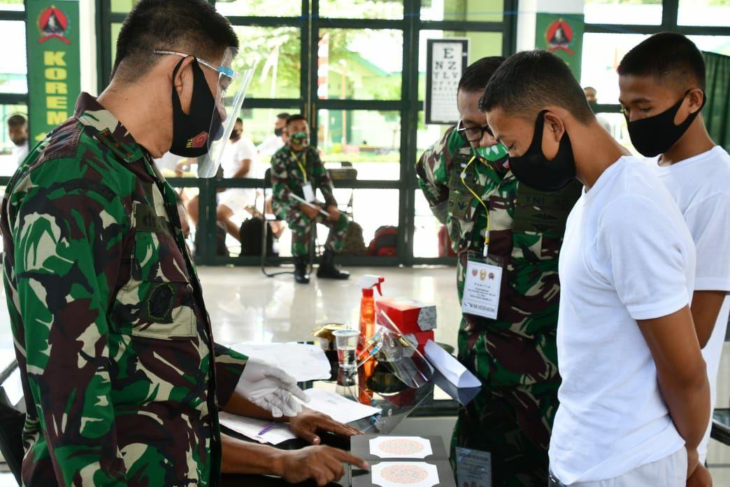 Ketat Seleksi Caba PK TNI AD TA 2020 Sub. Panda Mamuju