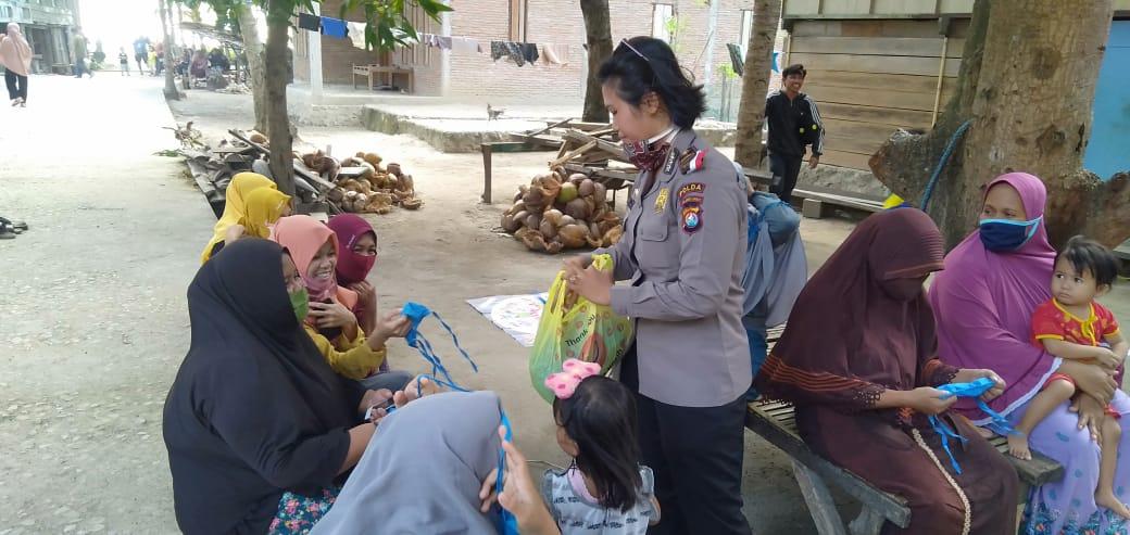 Gambar Sat Binmas Polres Majene Gencarkan Program Sosial bersama Penggiat Literasi