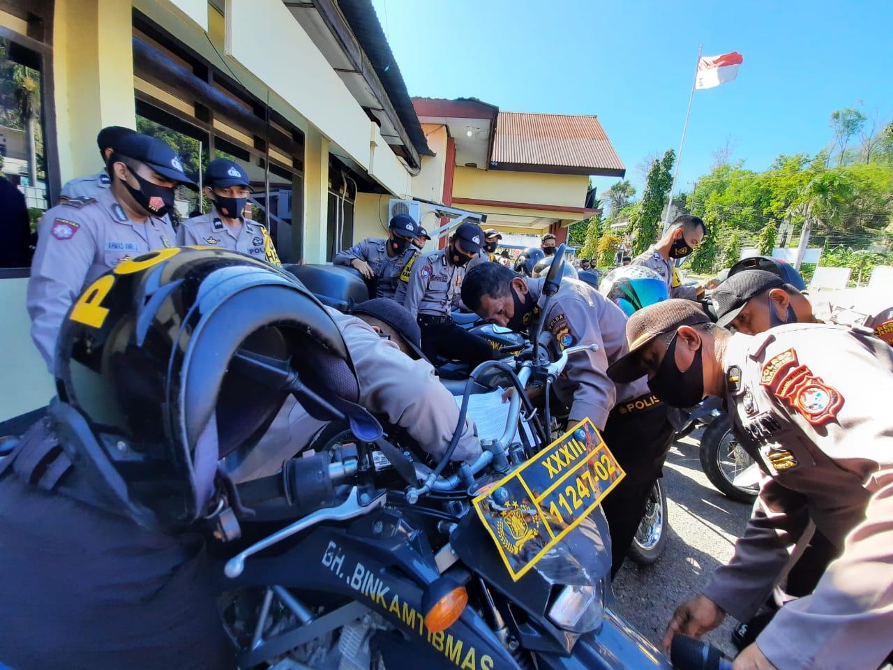 Gambar 158 Randis Polres Majene Jadi Target Operasi Tim Irwasda
